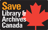 Save Library &amp; Archives Canada